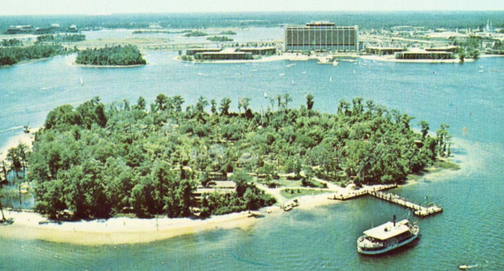 isola abbandonata disney
