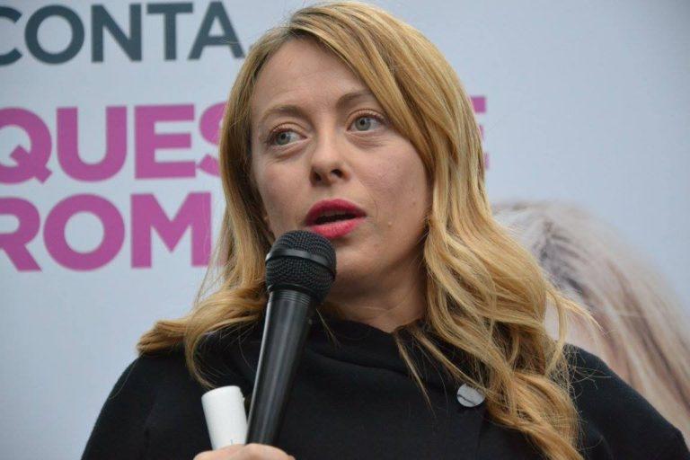 """Giorgia Meloni: """"Votare in autunno per elezioni regionali e politiche"""""""