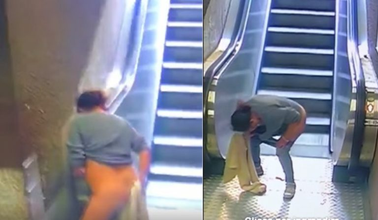 Donna defeca in stazione metro a Milano: il video diventa virale