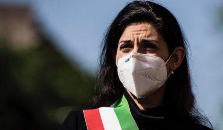 La sindaca di Roma, Virginia Raggi
