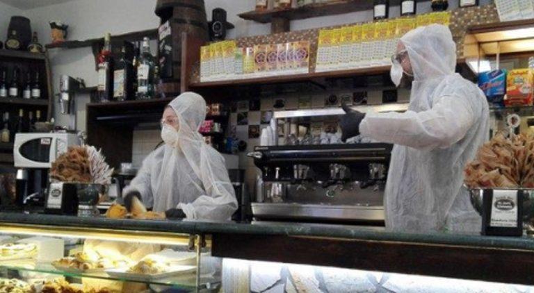 multato caffè davanti bar Aosta