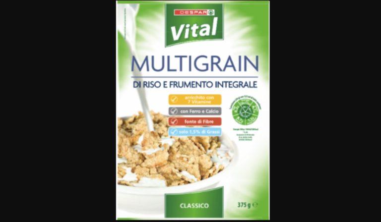 Cereali ritirati per allergene non indicato