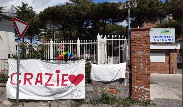 Ospedale Cotugno di Napoli: non ci sono più ricoverati in terapia intensiva