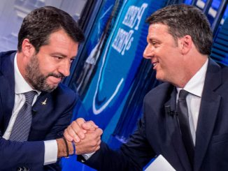 Renzi open arms salvini