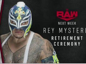 Rey Mysterio ritiro