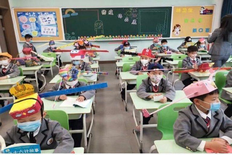 scuola riaperta cina metro