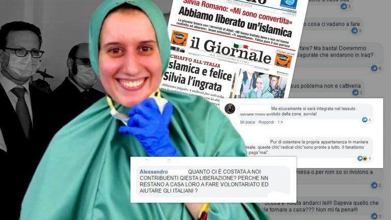 Silvia Romano rientra in Italia_ dilaga l'odio sui social