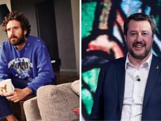 Tommaso Paradiso e Matteo Salvini