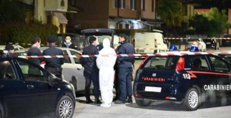 uccide moglie davanti figli Brescia