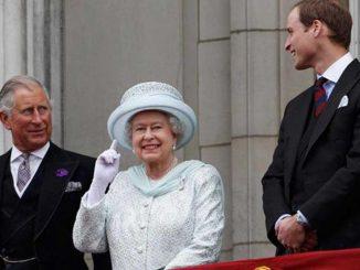 I principi William e Carlo d'Inghilterra