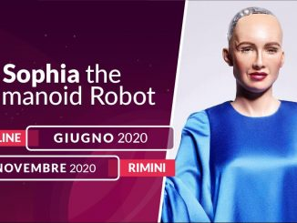 WMF 2020, Sophia: il robot più avanzato al mondo