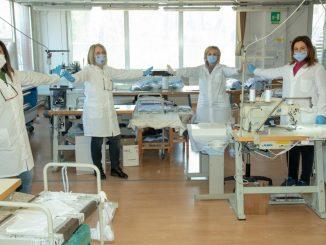 Ospedale di Chieti e mascherine