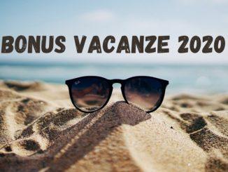 In arrivo il Bonus Vacanze 2020