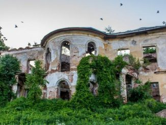 La casa sul fiume di Berov, simbolo di storia russa