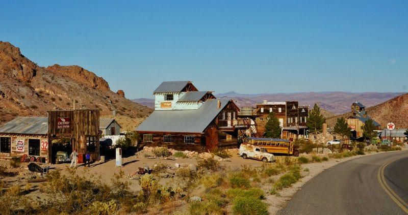 Nevada, città fantasma