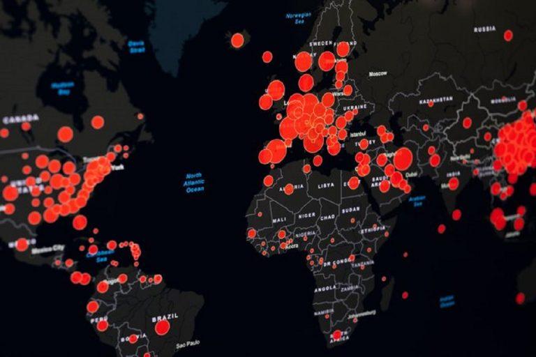 coronavirus contagi mondo