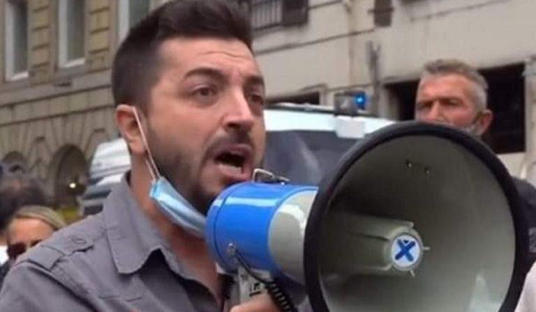 Proteste a Roma: Cristiano Aresu partecipa col suo partito