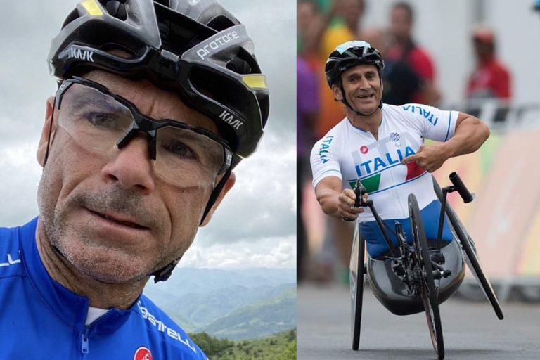Davide Cassani Alex Zanardi