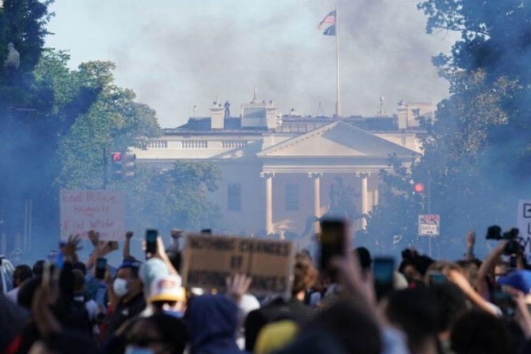 george floyd proteste polizia