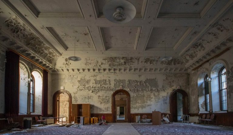 L'ex ospedale psichiatrico di Greystone Park