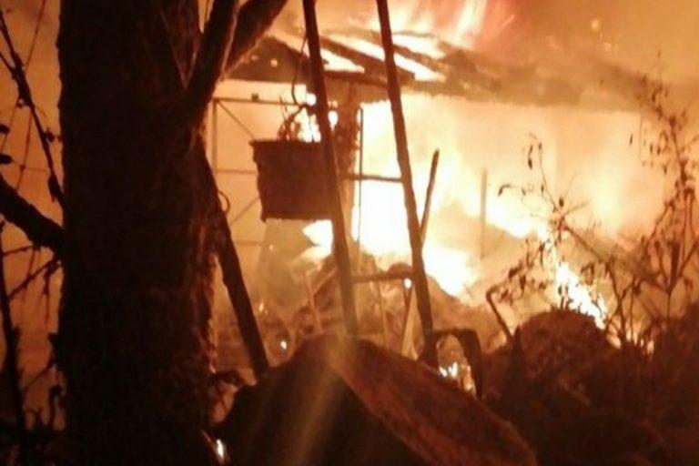 Incendio casa Treviso