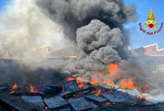 incendio Settimo Torinese
