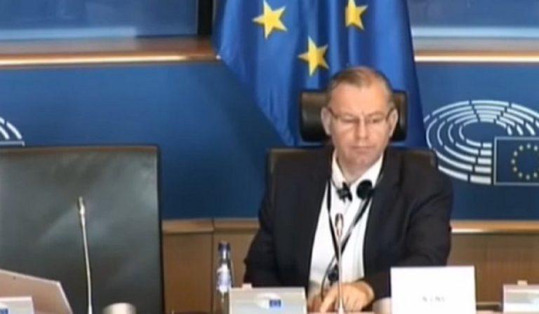 interprete europarlamento insulta Ciocca
