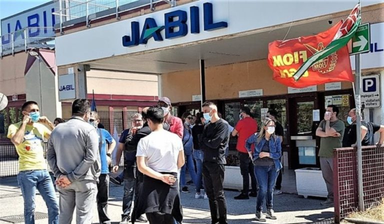 La sede di Jabil a Marcianise