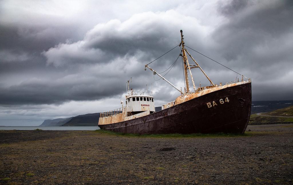 Gardar BA 64, la nave fantasma