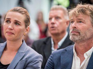 La premier danese Frederiksen e il suo fidanzato