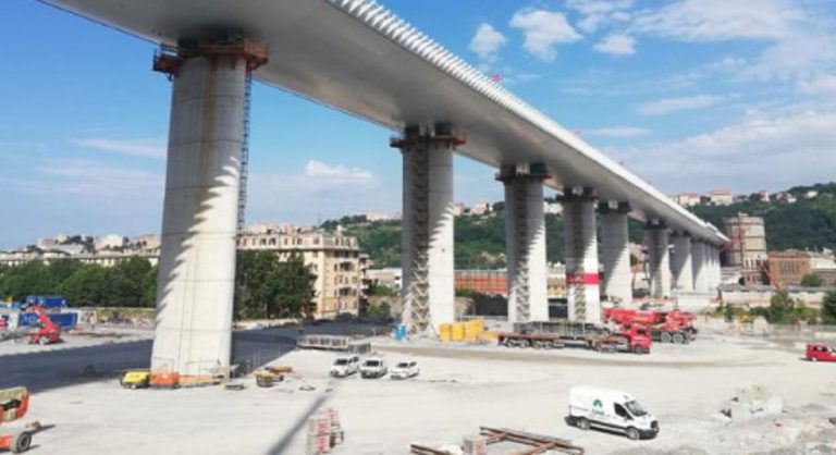 ponte Genova parenti vittime