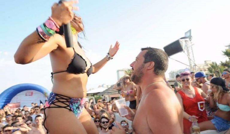 Salvini: estate al Papeete