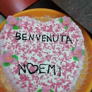 La torta per Noemi