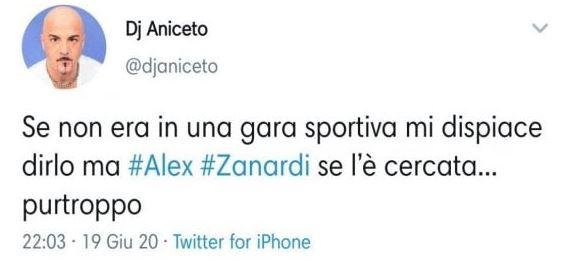 Tweet dj aniceto