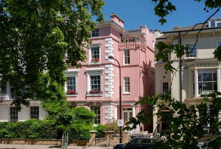 La Pink House di Londra