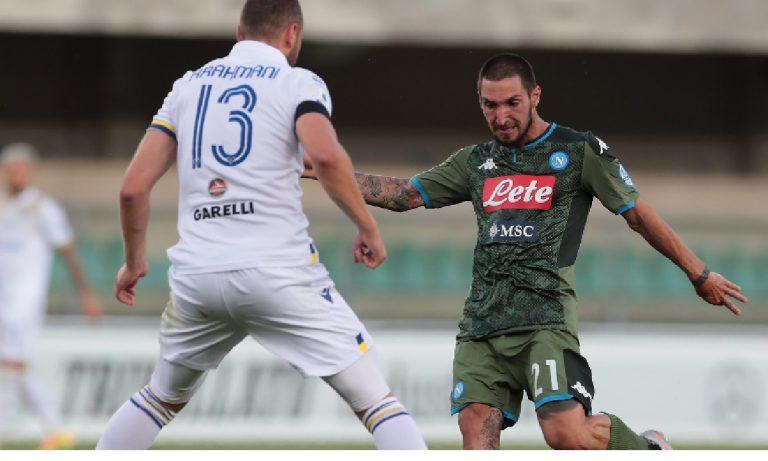 Verona Napoli 0-2