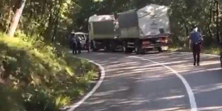 Incidente Alex Zanardi: camionista disperato