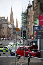 anziana bimbo Edimburgo