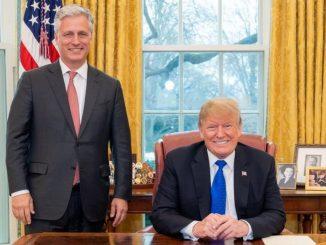 Usa, positivo al Covid il Consigliere per la Sicurezza di Donald Trump