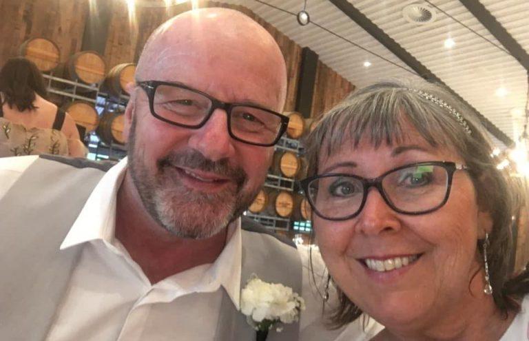 Alan Mowatt e sua moglie Val