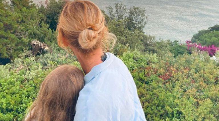 Alessia Marcuzzi dedica figlia