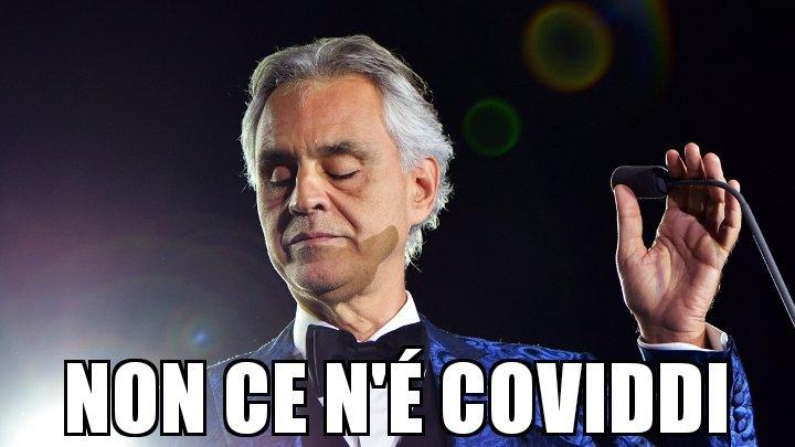 Bocelli non ce n'è coviddi