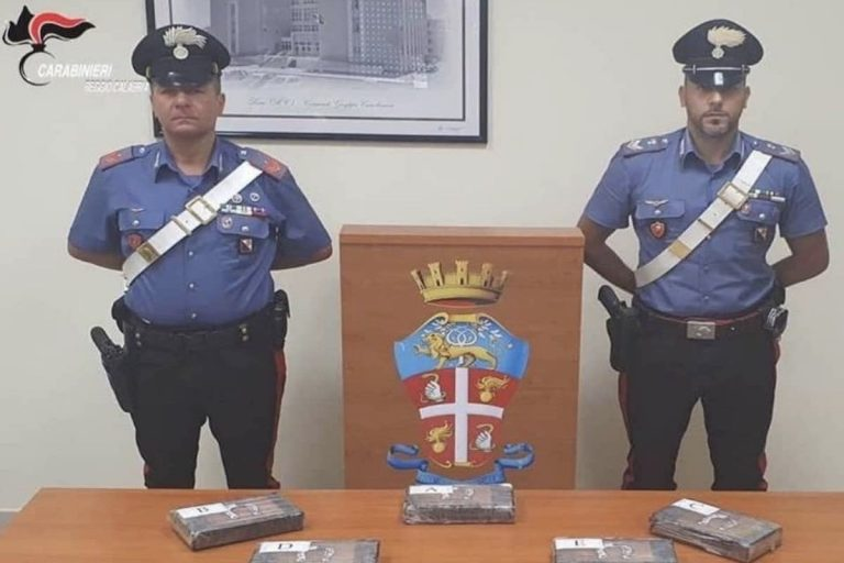 Carabiniere arrestato per possesso di droga