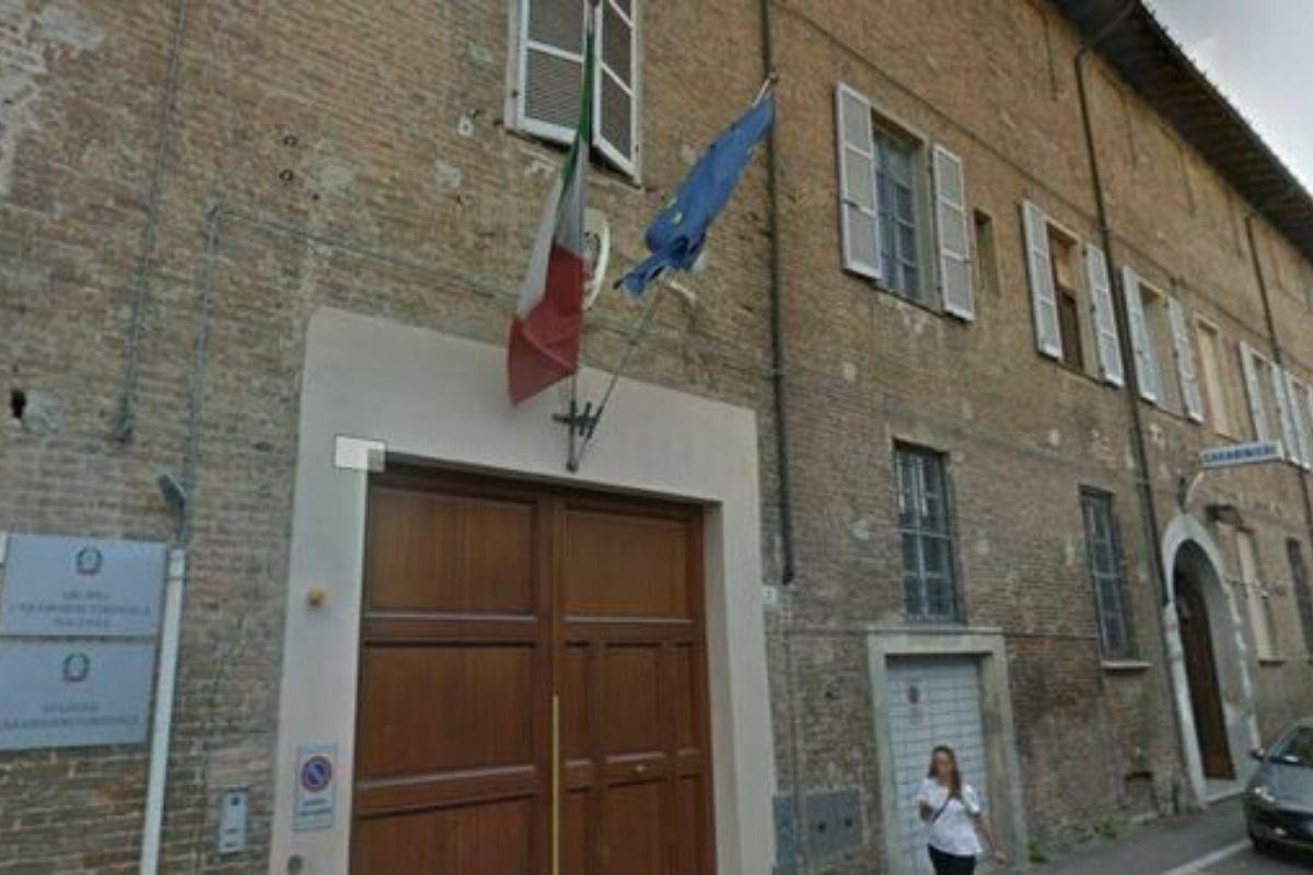 La sede dell'Arma dei Carabinieri (Piacenza)