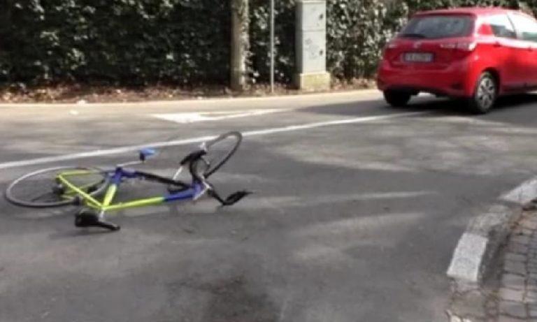 Ciclista investito Pontina