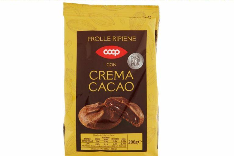 coop richiama frolle al cacao