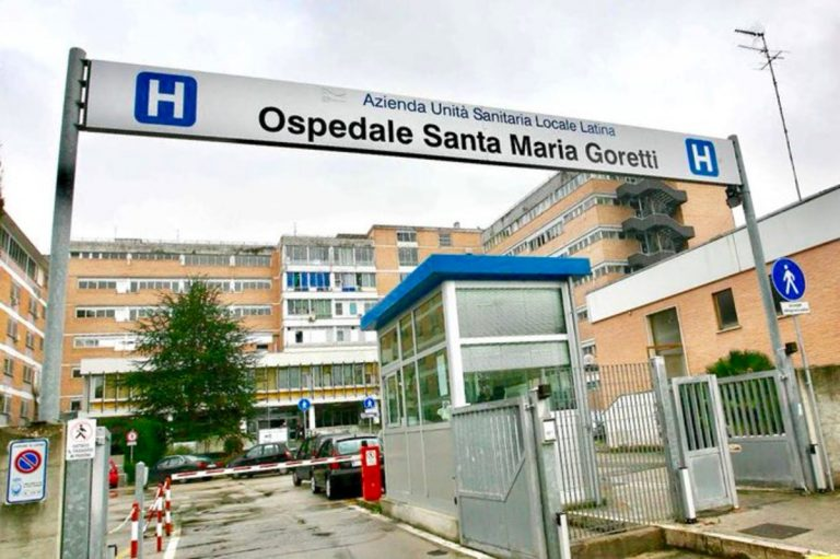 coronavirus ospedale latina paziente