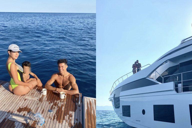 Cristiano Ronaldo quanto costa yacht