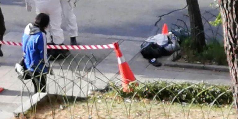 Cadavere scoperto per le strade