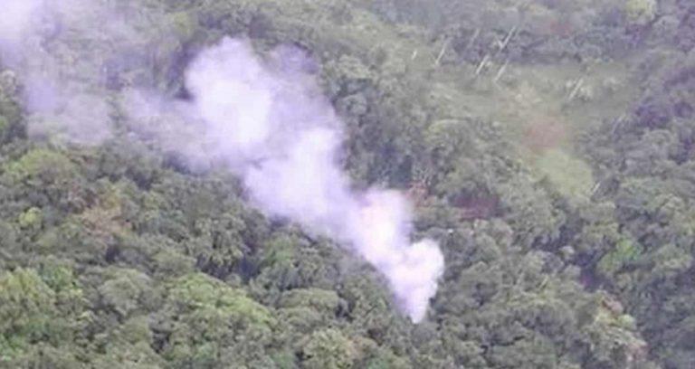 Elicottero militare precipitato Colombia